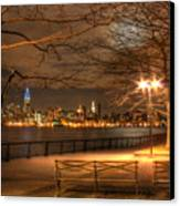 Frank Sinatra Park Canvas Print by Lee Dos Santos