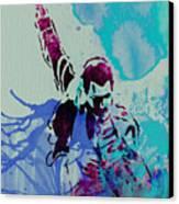 Freddie Mercury Canvas Print by Naxart Studio