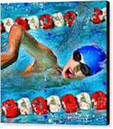 Freestyle Canvas Print by Stephen Younts