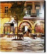 French Cafe Canvas Print by James Shepherd