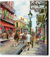 French Quarter Antiques Canvas Print by Dianne Parks