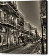 French Quarter Ride Canvas Print
