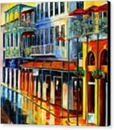 French Quarter Sunrise Canvas Print