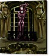 French Quarter Vamp Canvas Print