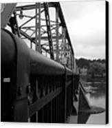 Frenchtown Bridge Canvas Print