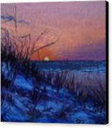 Frenchy's Sunset Canvas Print