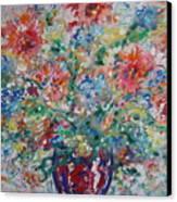 Fresh Bouquet Canvas Print