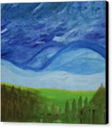 Fresh Breez From Dream World  Canvas Print