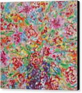Fresh Flowers. Canvas Print
