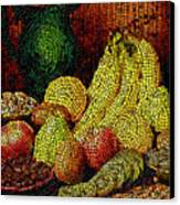 Fresh Fruit Tiled Canvas Print