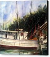 Fresh Shrimp Alabama Canvas Print by Don F  Bradford