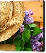 Freshly Picked Lilacs Canvas Print