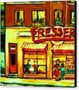 Fressers Takeout Deli Canvas Print