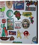 Fridge Magnets Canvas Print