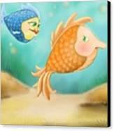 Friendship Fish Canvas Print