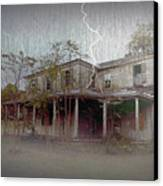 Frightening Lightning Canvas Print by Brian Wallace