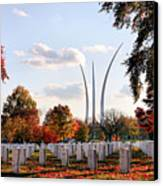 From Arlington Canvas Print by JC Findley