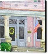 Front Porch Canvas Print