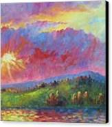 Front Range Sunset Canvas Print