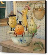 Fruits Canvas Print by Kestutis Kasparavicius