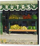 Frutas Y Canvas Print by Michael Ward