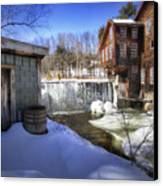 Frye's Measure Mill Canvas Print by Eric Gendron