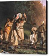 Fugitive Slaves, 1867 Canvas Print by Granger