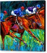 Full Speed Canvas Print by Debra Hurd