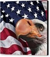 Funny Flag Canvas Print by Steve K