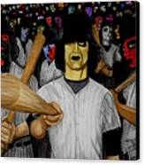 Furies Up To Bat Canvas Print by Al  Molina