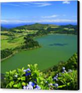 Furnas Lake Canvas Print