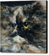 Furry Canvas Print by Valeriy Mavlo