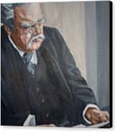 G K Chesterton Canvas Print