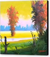G R E E N   D A Y -  Series Canvas Print