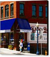 G Willikers Toy Shoppe Canvas Print by David Lee Thompson