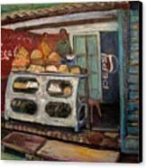 Gajak Sweet Shop Orchha Canvas Print