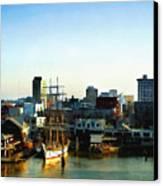 Galveston Bay Sunrise Canvas Print