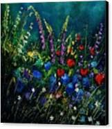 Garden Flowers 56 Canvas Print