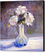 Garden Icebergs Canvas Print by Athena  Mantle