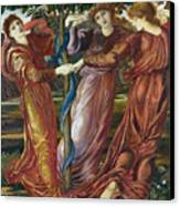 Garden Of The Hesperides Canvas Print by Sir Edward Burne Jones