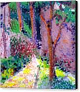 Garden Tour Canvas Print
