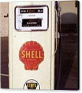 Gas Pump Canvas Print by Michael Peychich