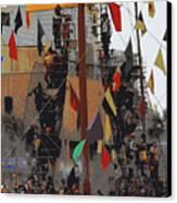 Gasparilla Ship Poster Canvas Print