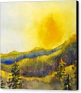 Gassaway Sunset Canvas Print