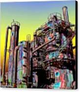 Gasworks Park 1 Canvas Print