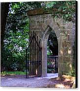 Gate At Cong Abbey Cong Ireland Canvas Print