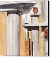 Gate Lock Canvas Print