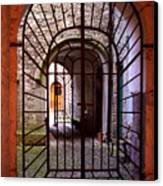 Gated Passage Canvas Print