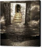 Gateway To Heaven Canvas Print by Andy Frasheski