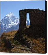 Gateway To The Gods 2 Canvas Print by James Brunker